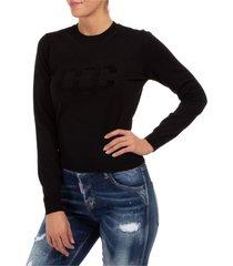 maglione maglia donna girocollo dc