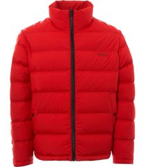 hugo biron puffer jacket - bright red 50393859