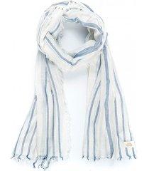 pañuelo bahamas blanco/azul humana