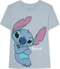 disney juniors stitch graphic print t-shirt