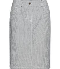 skirt short woven fa knälång kjol grå gerry weber edition
