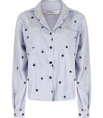 ambika blouse blauw tatum