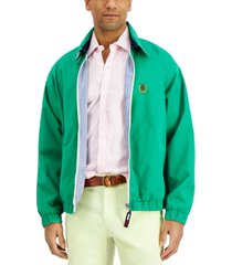 tommy hilfiger men's washed reversible ivy jacket