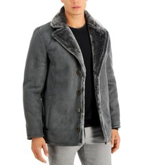 tasso elba men's faux-shearling jacket, created for macy's