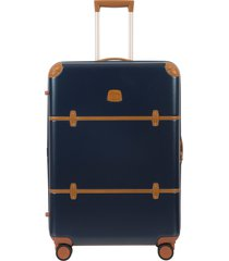 bric's bellagio 2.0 30-inch rolling spinner suitcase - blue
