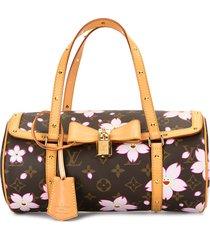 louis vuitton 2008 pre-owned papillon cherry blossom handbag - pink
