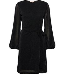 albertine midi dress knälång klänning svart soft rebels