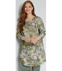 blouse sara lindholm olijf::lila