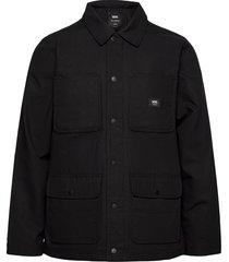 drill chore coat lined dun jack zwart vans