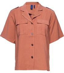 aphrodite shirt kortärmad skjorta rosa résumé