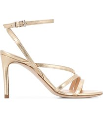 paul warmer 90mm strappy sandals - gold