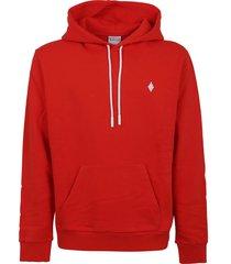 marcelo burlon cross regular hoodie