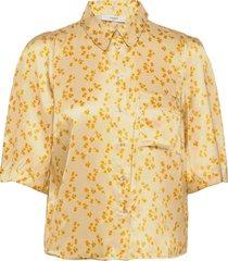 airy shirt kortärmad skjorta gul lovechild 1979