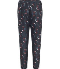 broek in jogg-pant-stijl van lieblingsstück multicolour