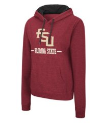 colosseum florida state seminoles women's genius hooded sweatshirt
