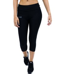 lycra negro under armour licra speed stride capri