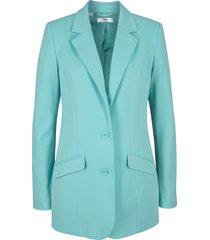 blazer lungo in jersey di cotone stile boyfriend (blu) - bpc bonprix collection