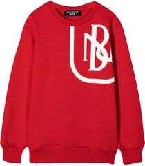 neil barrett red sweatshirt