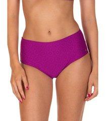bikini lisca hoge taille zwempakkousen kala nera paars