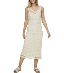 women's vero moda omega sleeveless midi dress