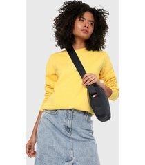 buzo amarillo tommy jeans