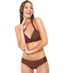 bikini marrón lecol dana