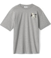 horse t-shirt in gray