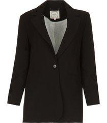 klassieke blazer latina  zwart