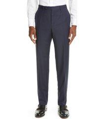 men's canali textured wool dress pants