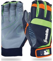 franklin sports shok-sorb neo batting gloves - youth