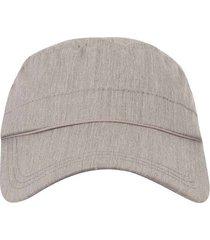 gorra tipo militar textura correa ajustable para hombre 93017