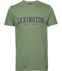 justin tee t-shirts short-sleeved grön lexington clothing