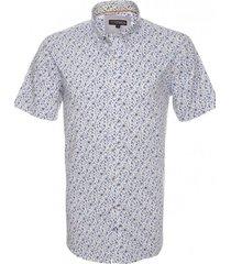 camisa estampada spandex button down potros