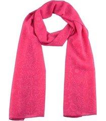 echarpe chá de mulher lenço pink pashmina chiffon