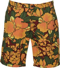 scotch & soda short - slim fit - oranje