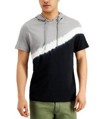 inc men's diagonal colorblocked hoodie, created for macy's