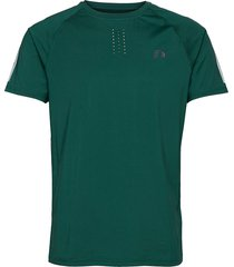 men´s training tee t-shirts short-sleeved grön newline