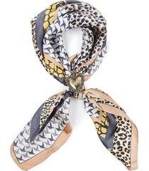 bandana geometric leopard gris humana