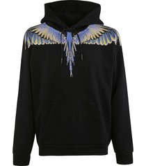 marcelo burlon regular wings hoodie
