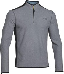 sueter under armour coldgear infrared fleece ¼ zip-plateado