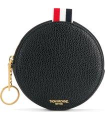 thom browne round coin case - black