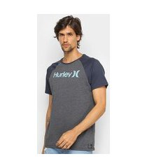 camiseta hurley especial college masculina