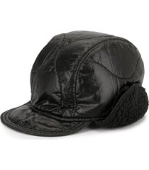 takahiromiyashita the soloist quilted baseball cap - black