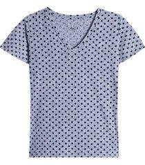 camiseta arandela manga pepas