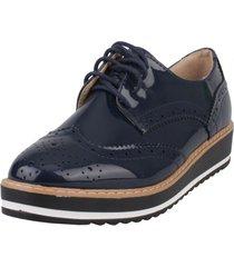 zapato oxford evoleth azul weide