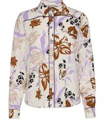 frvageo 2 shirt overhemd met lange mouwen crème fransa