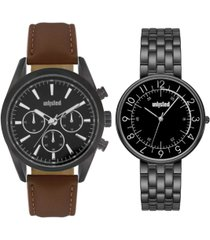 kenneth cole unlisted classic watch set, 44mm