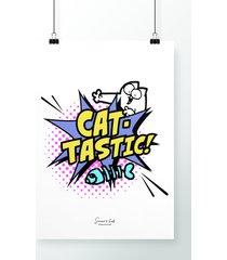 poster cat tastic