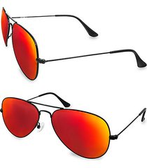 oliver 58mm square sunglasses