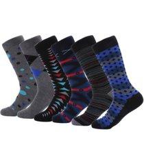 mio marino men's orthodox crew dress socks pack of 6